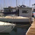 The other J-24 racing sailboat we used in my sailing class